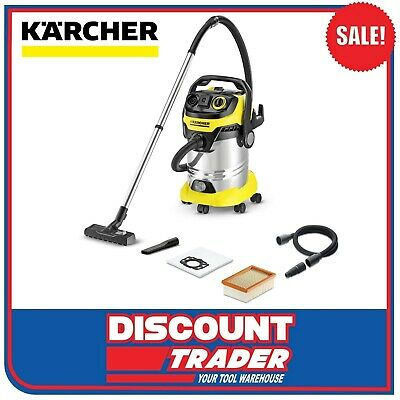 Karcher Wet & Dry Vacuum Cleaner 2000 Watt MV 6 P Premium WD 6 - 1.348-275.0