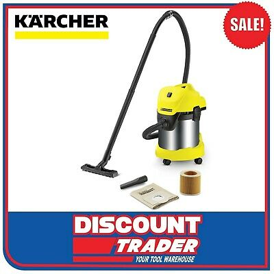 Karcher Wet & Dry Vacuum Cleaner 1400 Watt MV 3 Premium WD 3 - 1.629-849.0