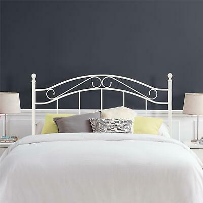 Mainstays Full/Queen Metal Headboard White