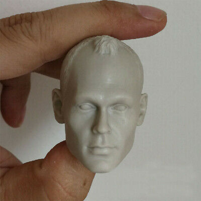 blank 1//6 scale Head Sculpt Imperial Stormtrooper Star Wars unpainted for 12/'/'