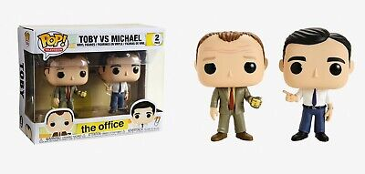 Funko Pop Television: The Office - Toby vs. Michael Vinyl 2 Pack #41917