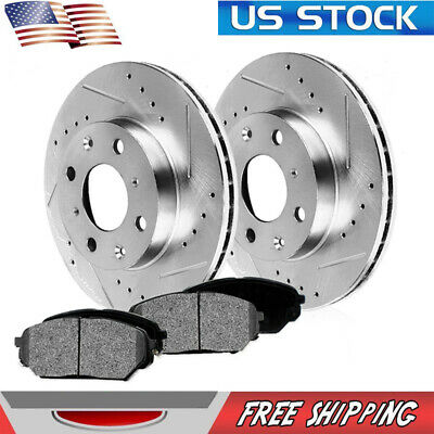 Front 256 mm Brake Rotors For CHEVROLET CHEVY COBALT SATURN ION PONTIAC G5