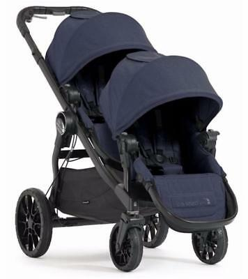 Baby Jogger 2018 City Select LUX Double Stroller in Indigo New!