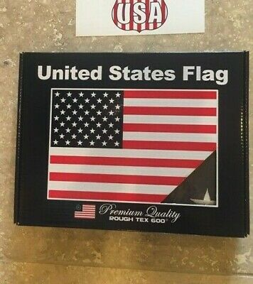 DURA-LITE ® Series American US Flag Heavy Duty 600D Embroidered Stars Sewn 3X5FT