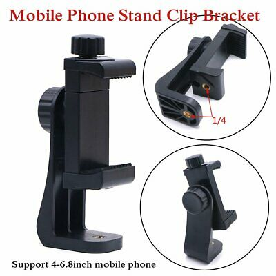 Universal Mobile Phone Stand Clip Bracket Holder Tripod Mount Adapter for Phone