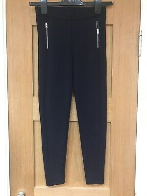 Brand New Girls Navy Winter Jeggins Leggins Trousers Age 10-11 Years By George