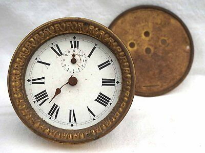 JAPY FRERES France 8 Days Movement Travel Alarm Clock for Replacement Paris 1890