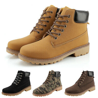 Men's Winter Snow Boots Warm Sports Waterproof Outdoor Ankle Hiking Work Shoes