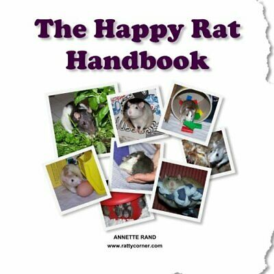 The Happy Rat Handbook by Rand, Annette Book The Cheap Fast Free Post