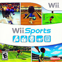 Brand New Copy Of Wii Sports With Seal On Packaging