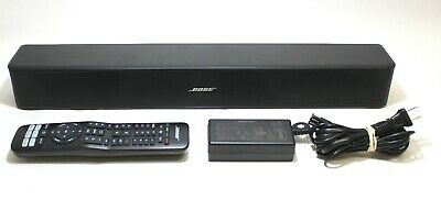 Bose Solo 5 Bluetooth Wireless TV Soundbar System (Model 718775) & Remote -Black