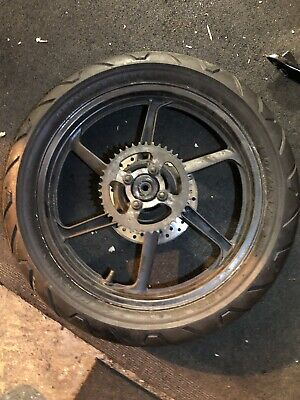 Honda CBR 125 2004 Rear Wheel And Tyre With Disc And Sprocket