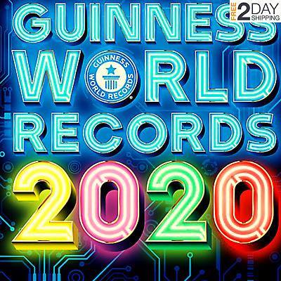 Guinness World Records 2020 by Guinness World HARDCOVER 2019 New Decade Fully