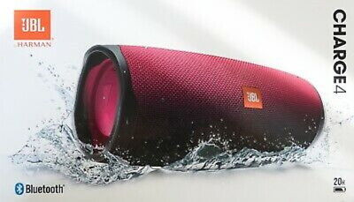 JBL Charge 4 Rechargeable Portable Waterproof Wireless Bluetooth Speaker Magenta