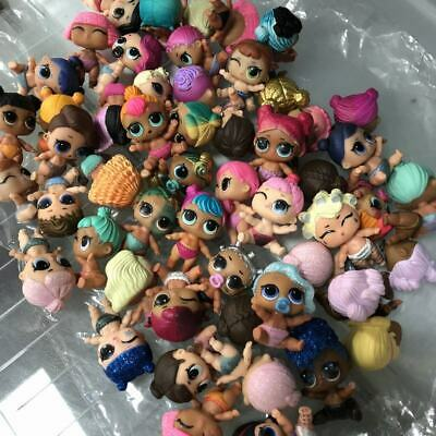 10x LOL Surprise Dolls Lot Lil Sisters punk boy unicorn kitty queen Color Change