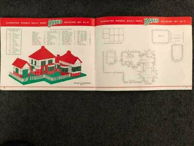 Vintage Bayco Building Sets
