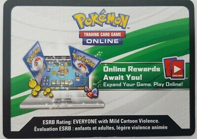 Pokemon Pikachu GX & Eevee GX Special Collection ONLINE CODE PTCGO E-MAIL