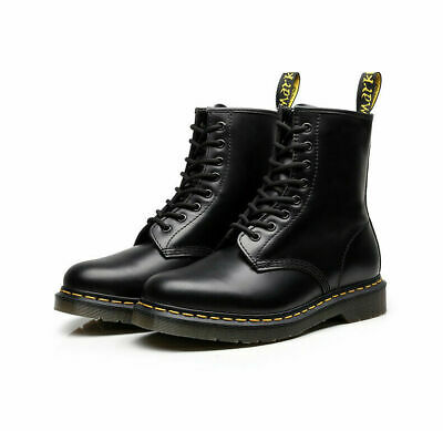 2019 NEW DO Martens Boots 8-Eye Classic Airwair 1460 Leather Ankle Boots Unisex#