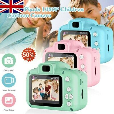 Mini Digital Camera Camcorder Video 1080P For Children Kids Gift Q5I3 UK