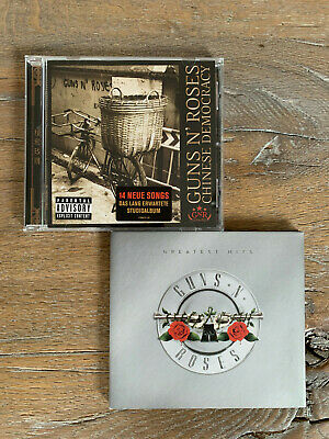 Guns N' Roses CDs - Greatest Hits & Chinese Democracy