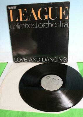 The League Unlimited Orchestra Love And Dancing Lp Cat Oved 6