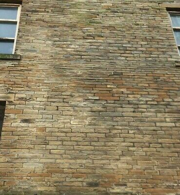 Reclaimed Black Faced Victorian Walling Stone