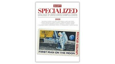 Scott Specialized Catalogue US Postage Stamp & Covers 2020 Free Shipping Deal
