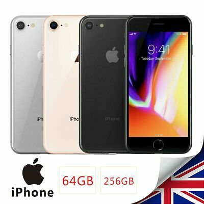 Factory Unlocked Apple iPhone 8 GSM Smartphone 64/256GB IOS Mobile New & Sealed