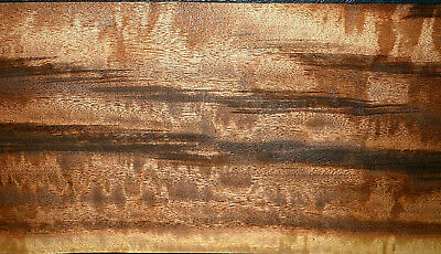 Tigerwood Raw Wood Veneer Sheets 7 x 25 inches 1/42nd                   C6602-47