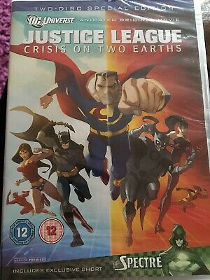 Justice League - Crisis On Two Earths (DVD) New