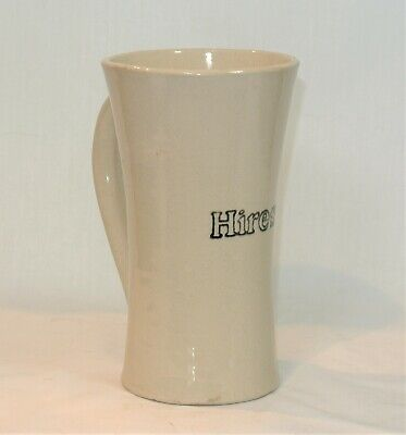 Vintage HIRES ROOT BEER Stoneware Advertising Mug Stein Tankard