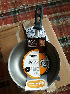 "Vollrath 7""  Trivent Handle Aluminum Fry Pan New"