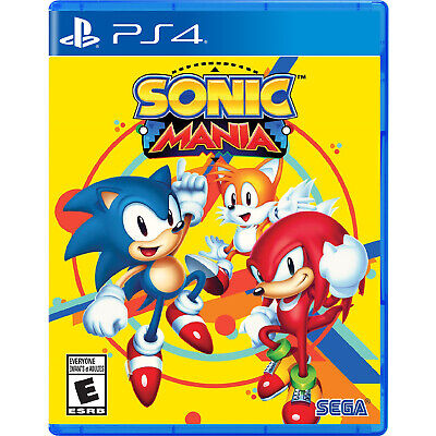 Sonic Mania PS4 [Brand New]