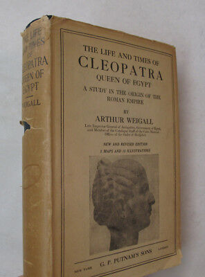 Ancient History Rome Egypt Biography Life Times Cleopatra Queen Egypt DJ 1926
