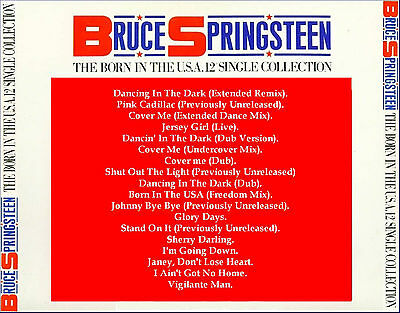 """BRUCE SPRINGSTEEN   """"The 12"""" Singles Collection""""   (18 Tracks w/ B-Sides!)"""