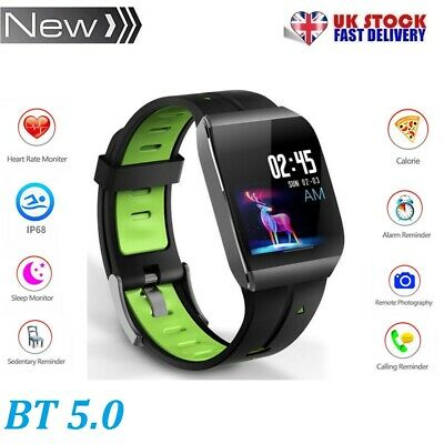NEW X1 IP68 Waterproof Smart Watch GPS Fitness Tracker For Android iOS UK STOCK