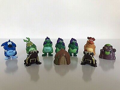Yowies Collectable Figurines x10