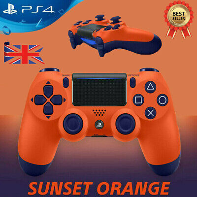 PS4 Wireless Controller Game Pad PlayStation Dualshock 4 For SONY PS4 Orange UK!