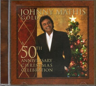 Johnny Mathis Gold - A 50th Anniversary Christmas Celebration (2006 CD) New