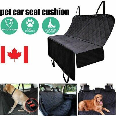New Pet Dog Car Back Seat Cover Waterproof Nonslip Protector Travel Carrier CA