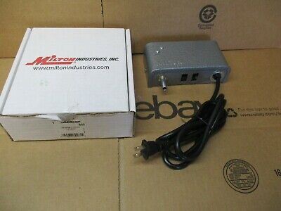 Milton Industries Self Contained Driveway Chime 110 Volt Model 802 Open Box