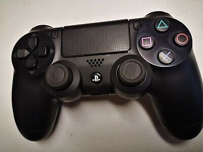 Playstation 4 Official Sony Black Dualshock PS4 Controller Control Pad NEW Unbox