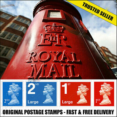 1st 2nd Class Postage Stamps First Second SMALL LARGE UK BRAND NEW