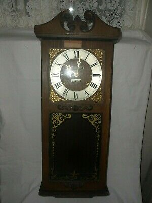 Large Antique Style President 31 Day Pendulum Wall Clock