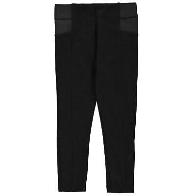 Crafted Sturdy Leggings Youngster Girls Pants Trousers Bottoms Ventilated
