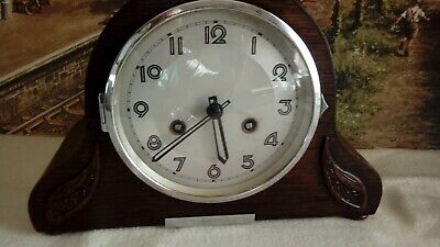 1937 German Mantle Striking clock in restored serviced working condition