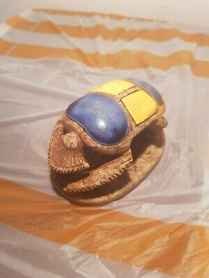 Rare Antique Ancient Egyptian Scarab good Luck precious stones 1830-1750BC