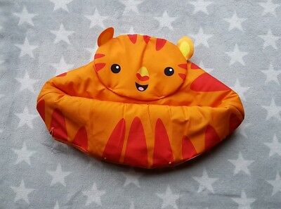 Fisher Price Roaring Rainforest Jumperoo  Tiger Seat Cover Fabric Pad