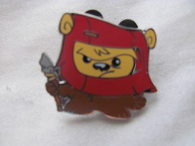 Disney Trading Pins 108427: Cute Star Wars Mystery Pin - Ewok only