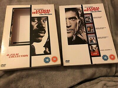 Lethal Weapon Collection - 1 - 4 Boxset (DVD, 2005, 4-Disc Set, Box Set)